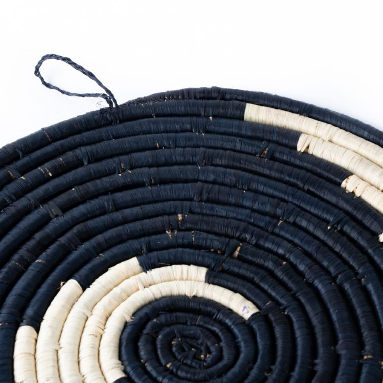 Black swirl placemat   Gallery 1   TradeAid