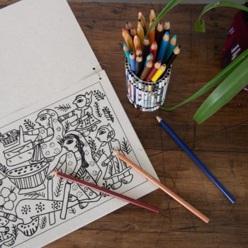 Mithila art colouring book | TradeAid