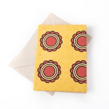 Flower design card | TradeAid