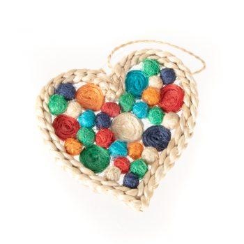 Jute heart hanging | TradeAid