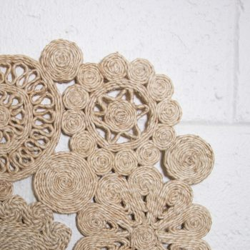 Ornate jute placemat   Gallery 1   TradeAid