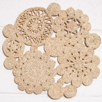 Ornate jute placemat | TradeAid