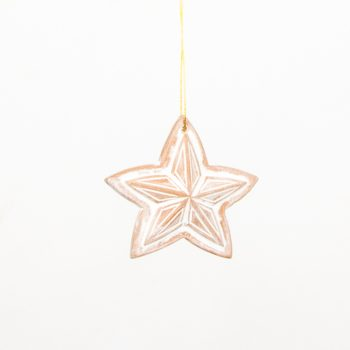 Star hanging (set of four) | TradeAid