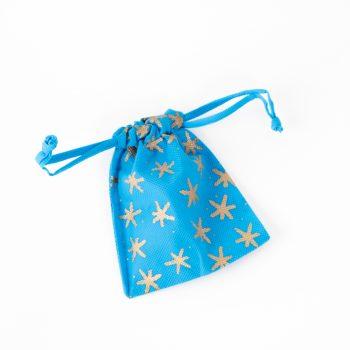Small star print gift bag | TradeAid