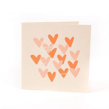 Heartful of love card   TradeAid