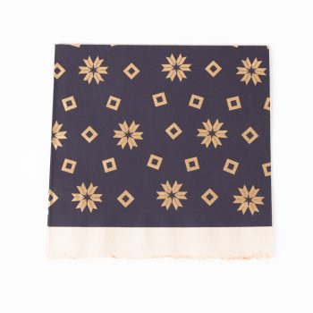 Blue and gold gift wrap | TradeAid