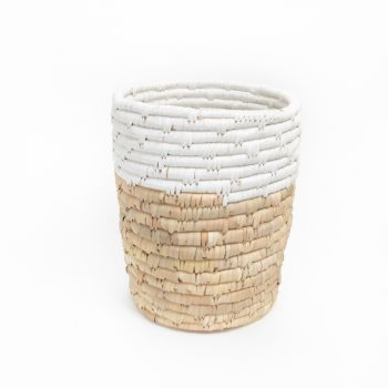 Wastepaper basket with white top | Gallery 1 | TradeAid