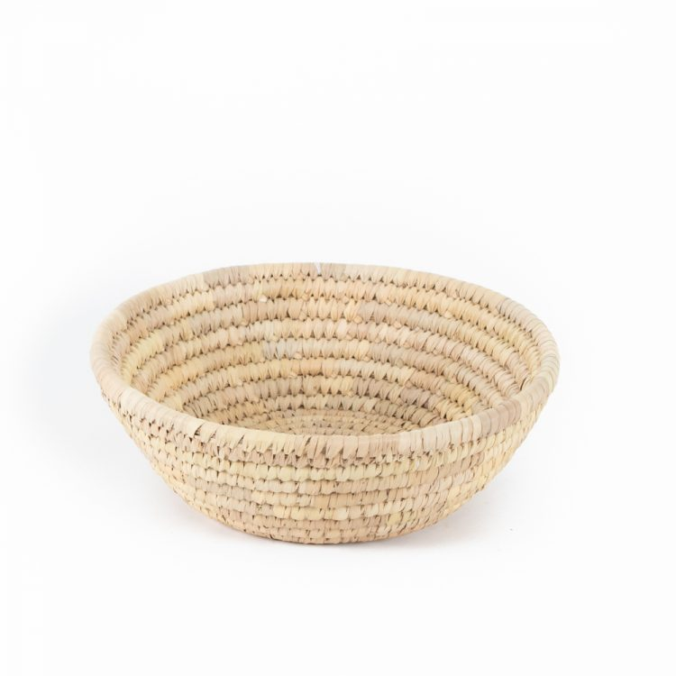 Large round woven bowl | TradeAid