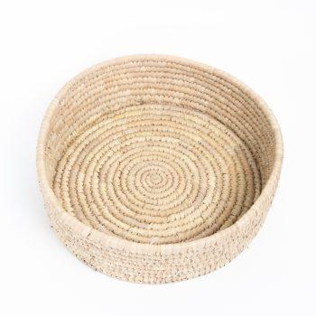 Deep sided woven bowl | TradeAid