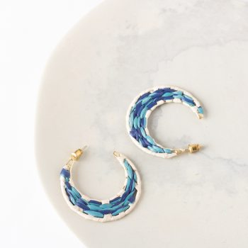 Blue moon earrings | TradeAid