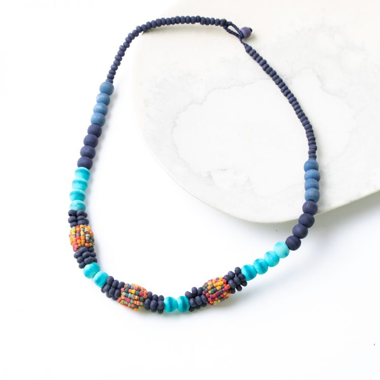 Wooden beads necklace   TradeAid