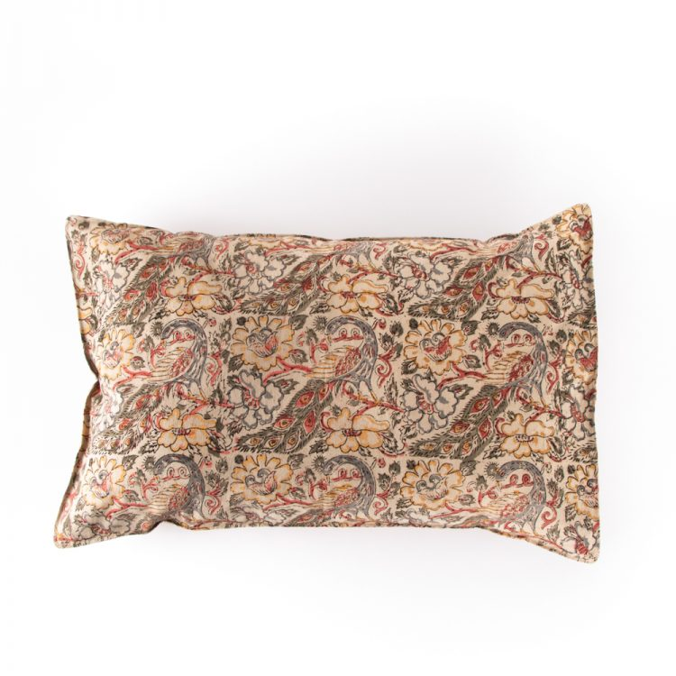 Floral peacock pillowcase | TradeAid