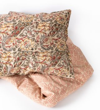 Floral peacock pillowcase | Gallery 1 | TradeAid