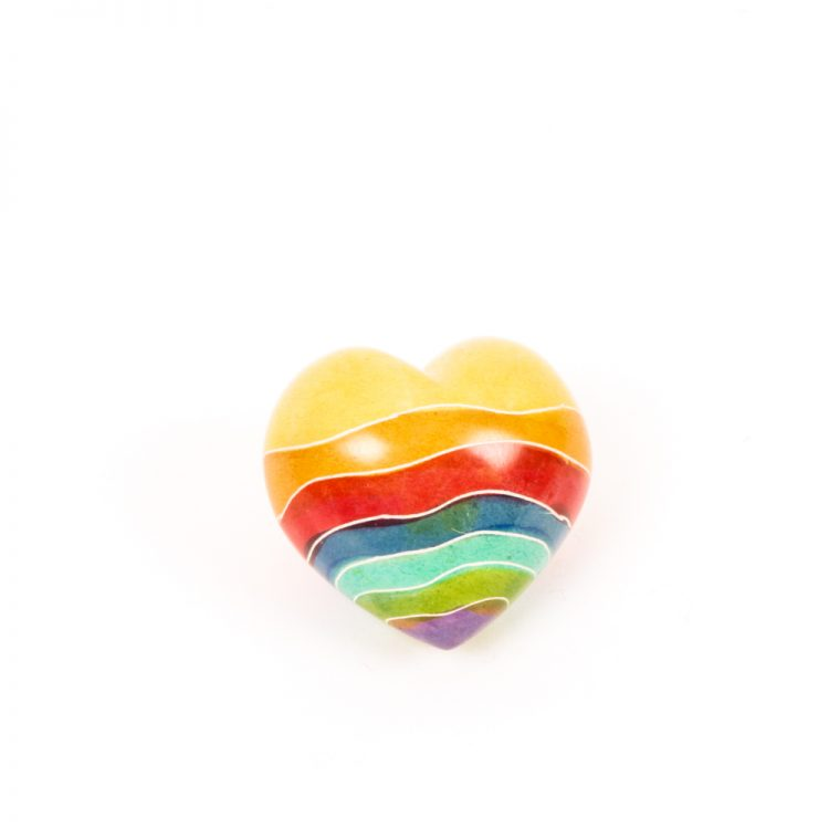 Rainbow design heart   TradeAid