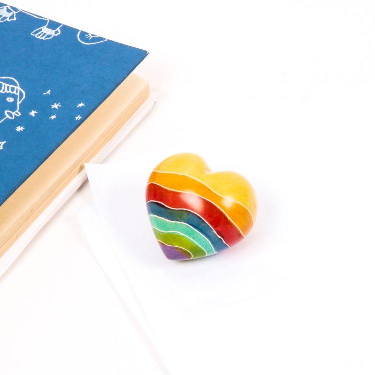 Rainbow design heart   Gallery 2   TradeAid