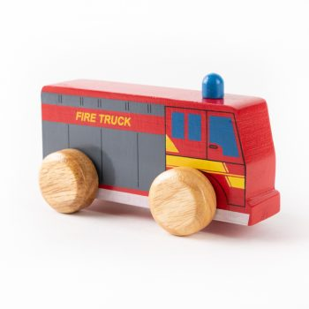 Fire truck push along | Gallery 1 | TradeAid