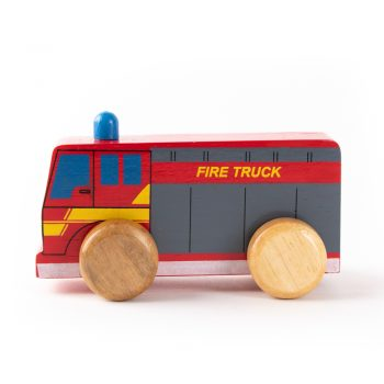 Fire truck push along | TradeAid