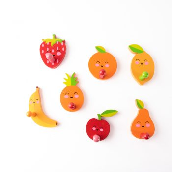 Happy fruit wall hooks | TradeAid