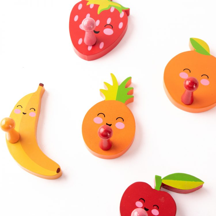 Happy fruit wall hooks | Gallery 1 | TradeAid