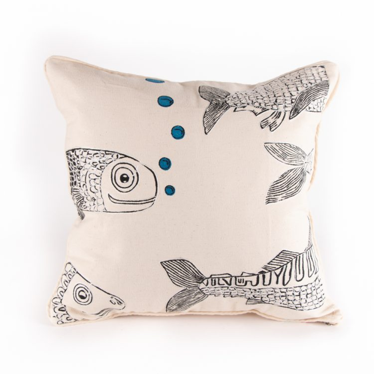 Fish cushion cover | TradeAid
