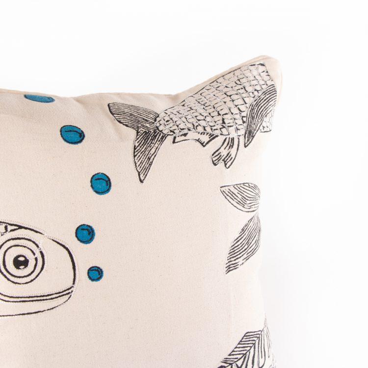 Fish cushion cover | Gallery 1 | TradeAid