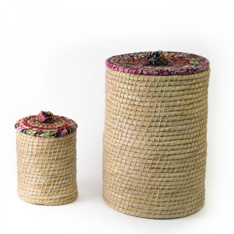 Kaisa laundry basket (set of two) | TradeAid