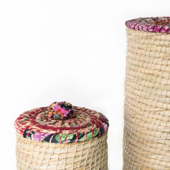 Kaisa laundry basket (set of two) | Gallery 1 | TradeAid