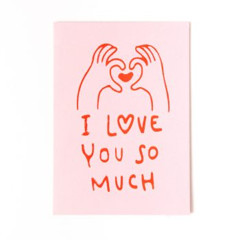 I love you so much card | Gallery 1 | TradeAid