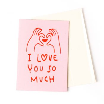 I love you so much card | TradeAid
