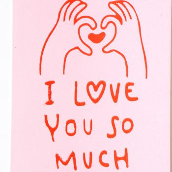 I love you so much card | Gallery 2 | TradeAid
