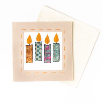 Sari candles card   Gallery 1   TradeAid