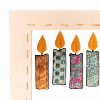 Sari candles card   Gallery 2   TradeAid