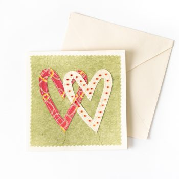 Sari heart card | TradeAid