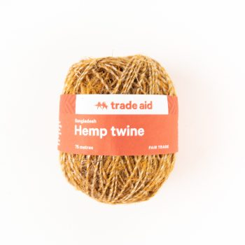 Yellow and natural twine | TradeAid