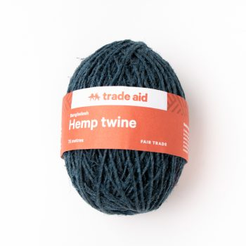 Classic blue hemp twine | TradeAid