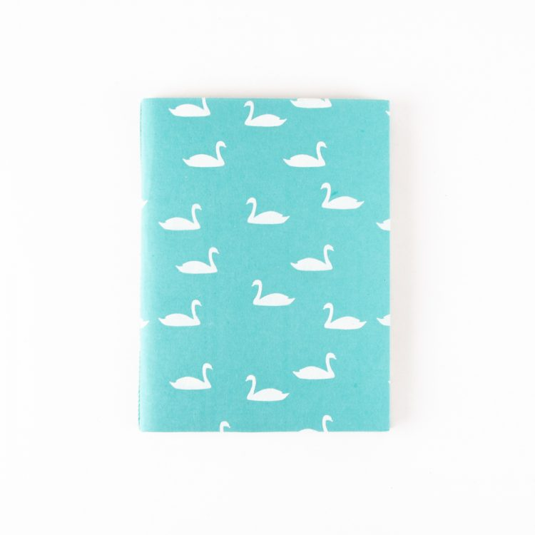 Swan print notebook   TradeAid