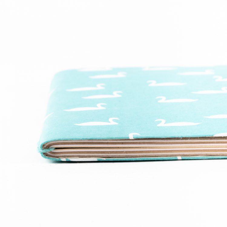 Swan print notebook   Gallery 1   TradeAid