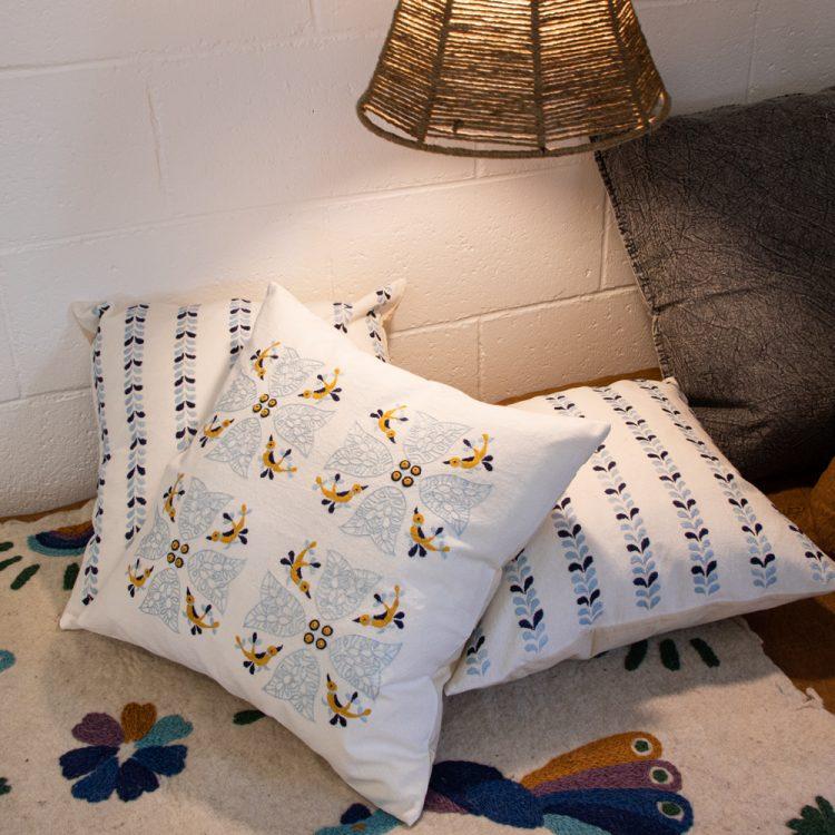 Exotic bird cushion cover | Gallery 1 | TradeAid