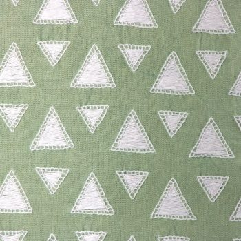 White triangles cushion cover | Gallery 1 | TradeAid