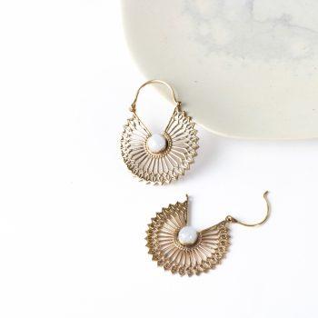Sunflower earrings   Gallery 2   TradeAid