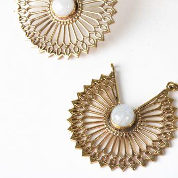 Sunflower earrings   Gallery 1   TradeAid