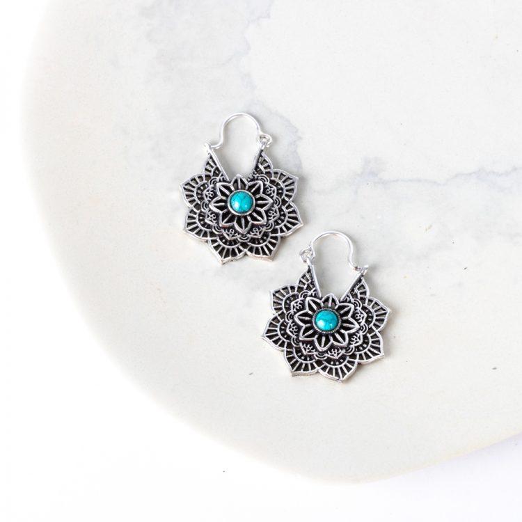 Lotus earrings   TradeAid