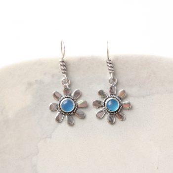 Silver daisy earrings | TradeAid