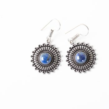 Silver sun earrings | TradeAid