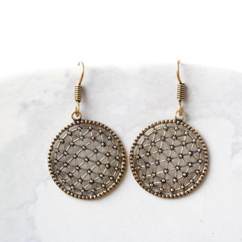Antique jali cut earrings | TradeAid
