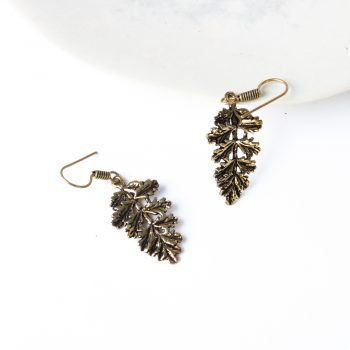 Antique leaf earrings | Gallery 1 | TradeAid