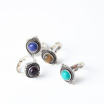 Silver petal ring | TradeAid