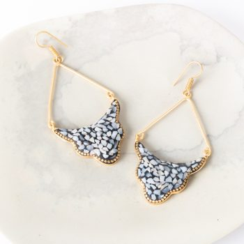 Mosaic arch earrings | TradeAid