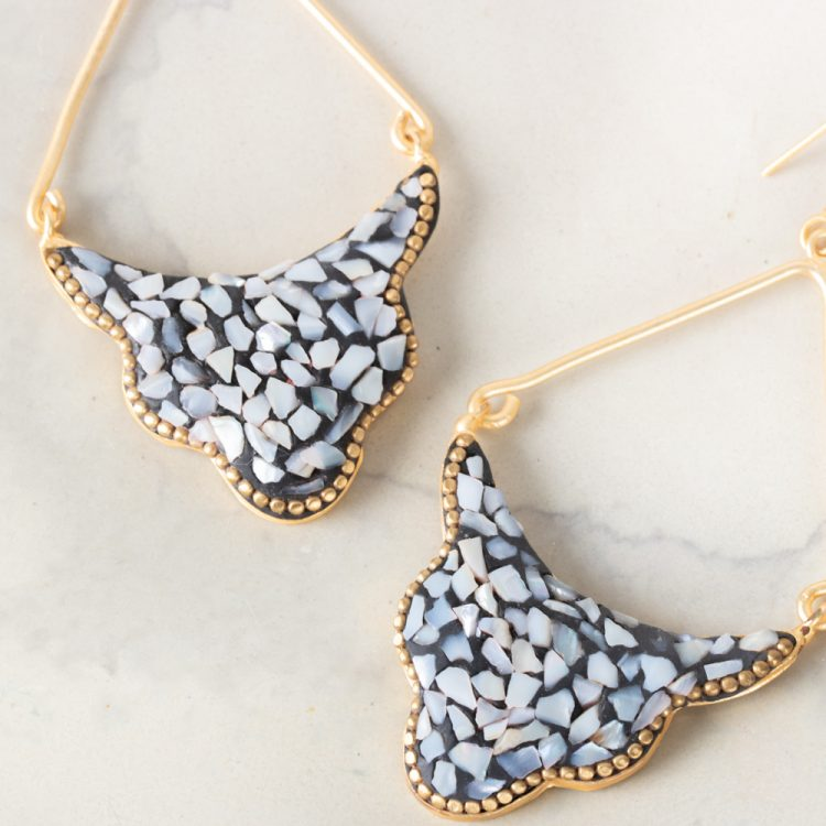 Mosaic arch earrings | Gallery 2 | TradeAid
