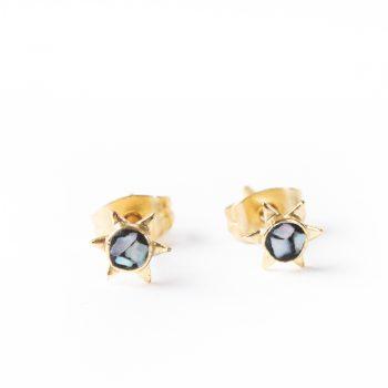 Mosaic stud earrings   Gallery 1   TradeAid